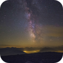 Milkyway and Mars from the top of the Alps!,                                  Gianni Cerrato