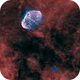 The Crescent and Soap Bubble Nebulae (NGC 6888 & PN G075.5+01.7),                                Ross Walker