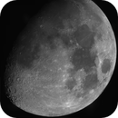 Moon (24 megapixel mosaic from 36 panels - see full resolution),                                Csere Mihaly