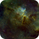 Ic1805 SHO Center of nébula,                                Eric COUSTAL ( F5...