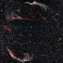Nebulosa Velo Mosaico 2 pannelli,                                francopanetta