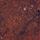 IC 1396 Elephant's Trunk nebula,                                diurnal