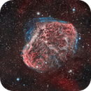 Crescent nebula NGC6888,                                Hunter Harling