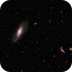 Messier 106 and NGC4217 : Two galaxies in Canes Venatici,                                Daniel.P