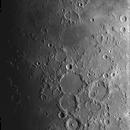 Lunar terminator 9-panel mosaic, 57% waxing, 127 MAK, QHY5LII-M,                                turfpit