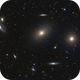 M86 and others in Virgo,                                Nurinniska