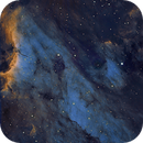 Pelican Nebula,                                ewa