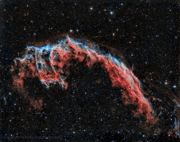 NGC6992 in HOO,                                Georges