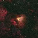 M17 Swan Nebula,                                Stephen Charnock