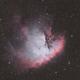 Pacman Nebula - NGC 281,                                Chad Adrian