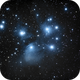 M45, the Pleiades,                                Patrick Hsieh