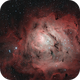 M 8 The Lagoon Nebula,                                  Elmiko