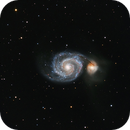 M51 - Whirlpool Galaxy - LRGB,                                Greg Polanski