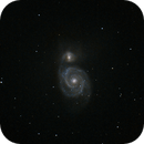 M51 (with iPhone),                                Howking
