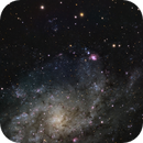 NGC 604 and M33,                                  AnttiJii