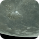 Aristarcus under BackyardEOS Planetary capture test (very turbulent atmosphere layers),                                Jesús Piñeiro V.
