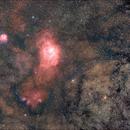 Messier8 - Messier20,                                Alexander Grasel