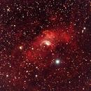 The Bubble Nebula,                                David Redwine