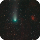 Comet 21P/Giacobini–Zinner with SH2-232/235,                                Arvind H.