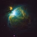 Narrowband Orion Nebula - 2017/01/03,                                Chappel Astro