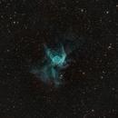 Thor or Asterix Helmet / Duck Nebula,                                KiwiAstro
