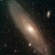 Andromedagalaxie Messier (M) 31,                                astrobrandy