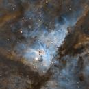 Keyhole Nebula,                                Ethan Wong