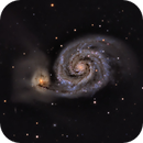 M51 Whirlpool Galaxy,                                William Brown