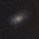 M33 - Galaxia del Triángulo (2º Procesado),                                Luis Martinez