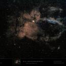 Sh2-157 in SHO - Lobster Claw Nebula - Reprocessed,                                  Uwe Deutermann
