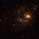 Lagoon Nebula,                    Jirair Afarian
