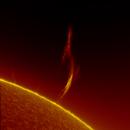Solar spike July 31th 2020,                                Thomas Klemmer
