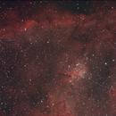 Heart Nebula,                                Robin Clark - EAA imager