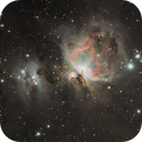 M42 The Great Nebula in Orion,                                Everett Lineberry