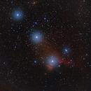 Orion belt IC434 / Pentax K30D astrodon + Takumar 200mm f/4 for 6x7,                                patrick cartou