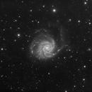 M101 Pinwheel Galaxy,                                S. DAVID
