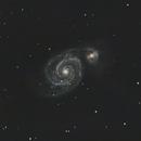 The Whirlpool Galaxy,                                Vishal Anand