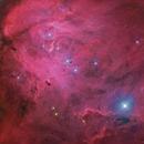 IC 2944- INSIDE  the running chicken nebula,                                Federico Pelliccia