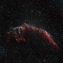 NGC6995 Eastern Veil Nebula HOO,                                Bock Chuang Yee