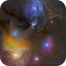Colorful region between supergiant Antares and Rho Ophi!,                                Mohammad Nouroozi