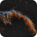 Veil Nebula ( NGC 6992) Modified Hubble Palette,                                AstroBadger