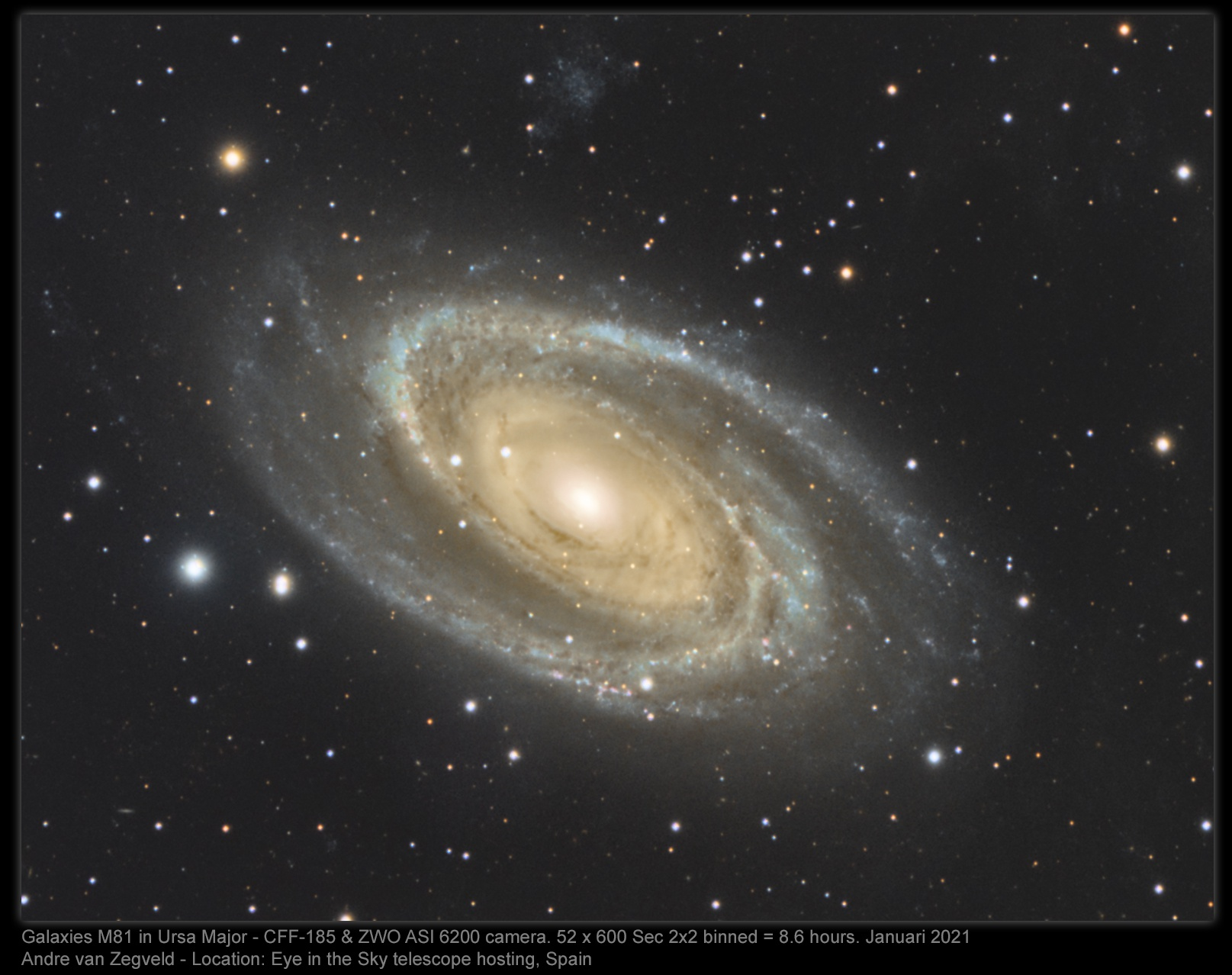 M81,                                Andre van Zegveld