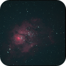 M8 Lagoon Nebula,                                Christian van den...