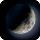 Earthshine Moon with Glow,                                Sam Stirling