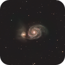 M51 - Whirlpool Galaxy,                                Kyle Pickett