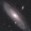 Messier 31, QHY168C, 20200818,                                Geert Vandenbulcke