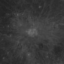 Moon, Copernicus, Mare Insularum, April 24, 2021,                                Ennio Rainaldi