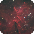 Melotte 15 (Heart of the Heart) HaRGB - 4 Dec 2019,                                Geof Lewis