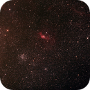 NGC7635 and M52,                                wei-hann-Lee