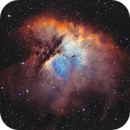 Pacman Nebula (NGC 281),                                Jonathan Piques